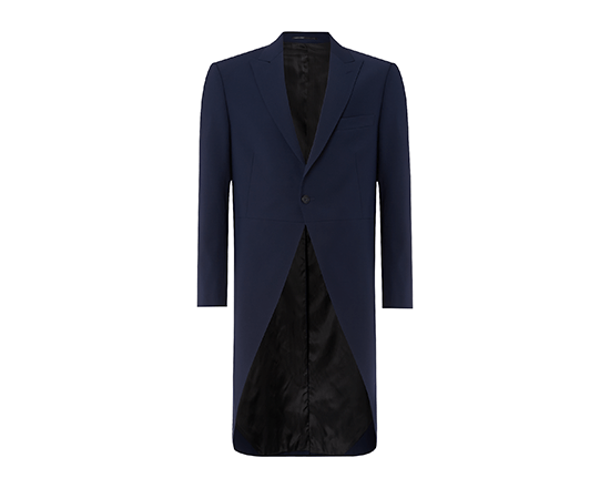 Blue Slim Fit Tailcoat.png