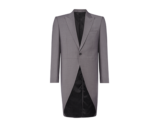Grey Slim Fit Tailcoat.png