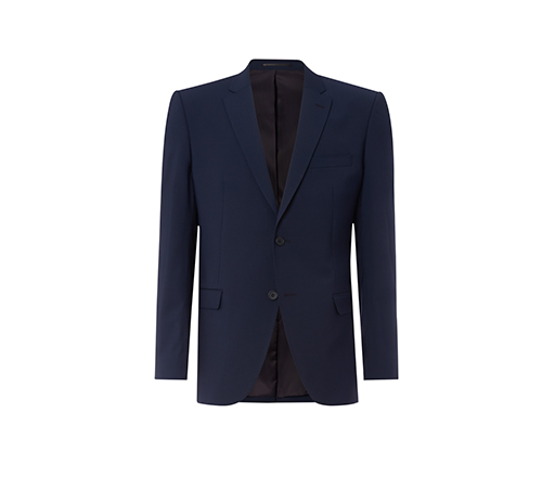 Blue Slim Fit Short Jacket.jpg