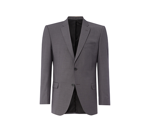 Grey Slimfit Short Jacket.jpg
